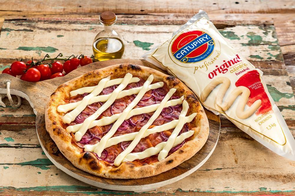 Dia da Pizza é com Catupiry®.