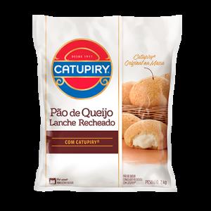 PÃO DE QUEIJO LANCHE RECHEADO COM CATUPIRY®